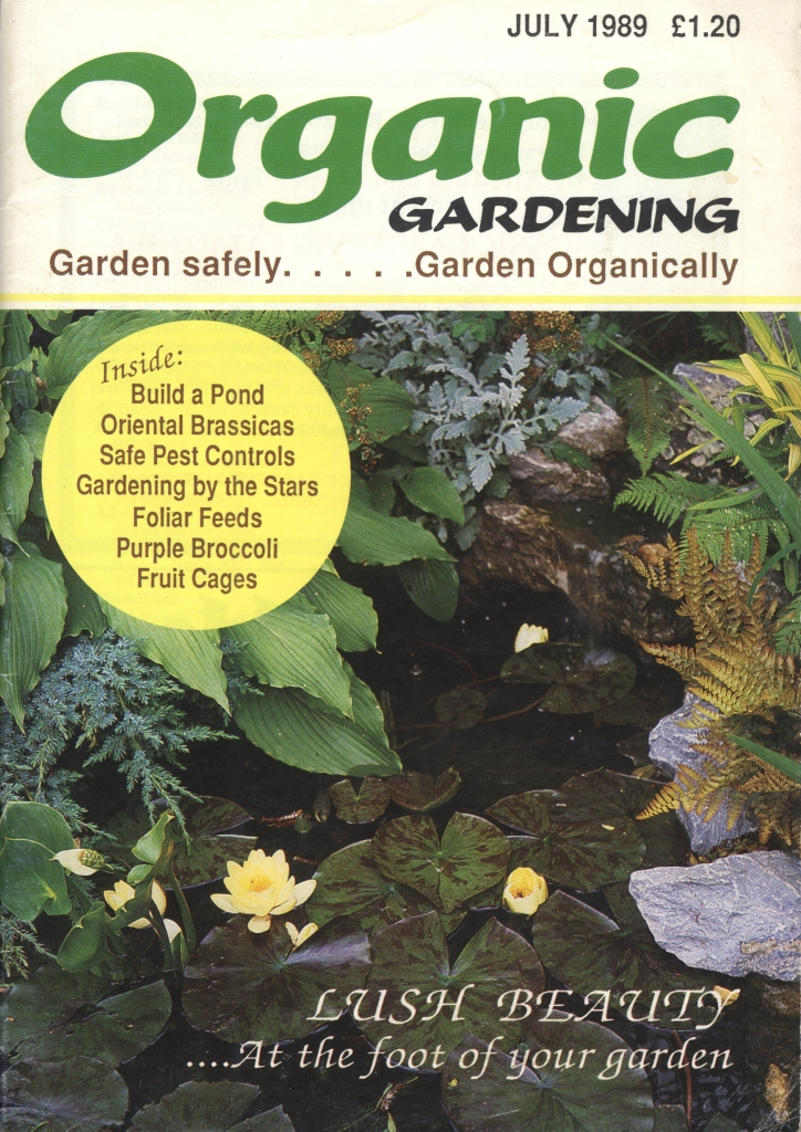 Organic Gardener, July 1989